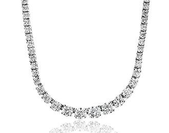 diamond necklaces in houston