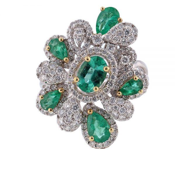 Nazar's Emerald and Diamond Rin