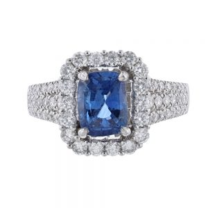 Nazar's Sapphire and Diamond Ring Cocktail
