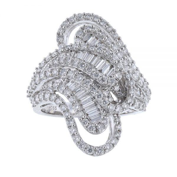 Nazar's 18k diamond ring