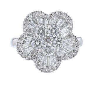 Nazar's Diamond Flower Ring