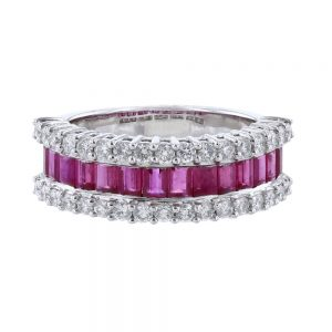 Nazar's Ruby and Diamond Ring