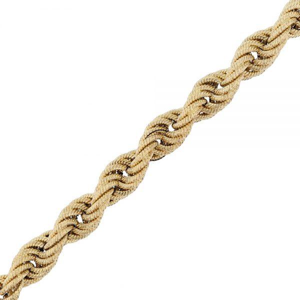Nazar's 14k Yellow gold twist bracelet ladies