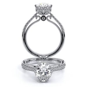Couture-0429DOV Floral Tiara Engagement Ring