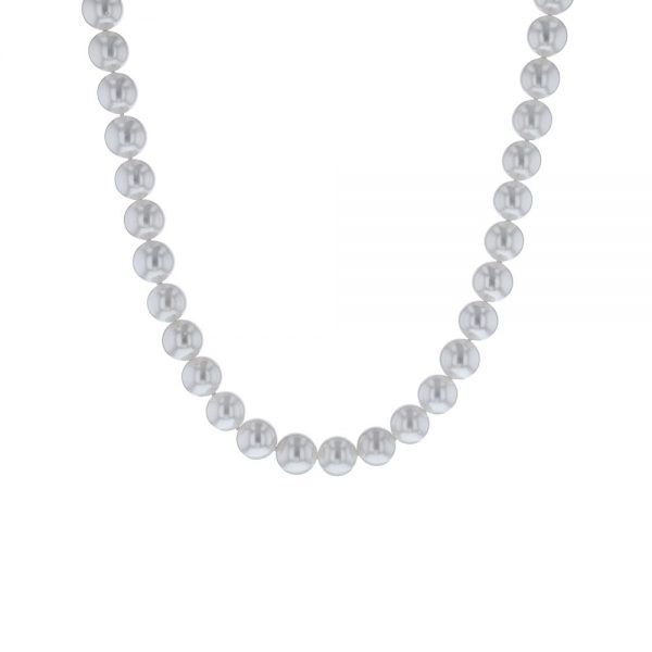 Cultured Pearl Necklace 14k White Gold