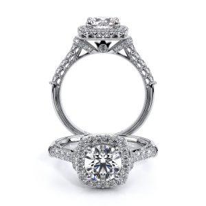 Verragio Renaissance Halo Diamond Engagement Ring